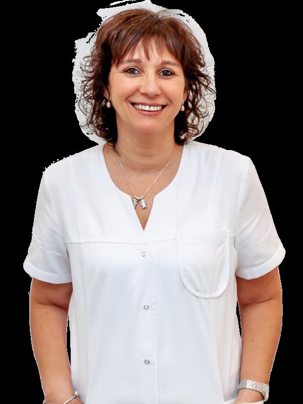Yolanda Bosch, recepcionista